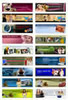 Thumbnail Set of 18 Headers And Footers (PLR)