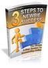 Thumbnail 3 Steps To Newbie Success (plr)