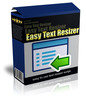 Thumbnail Easy Text Resizer (MRR)