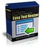 Easy Text Resizer (MRR)