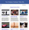 Thumbnail Designer Footwear Video Site Builder (MRR)