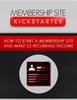 Thumbnail Membership Site Kickstarter (MRR)