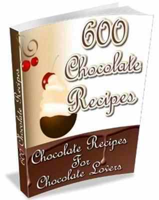 Product picture 600 Chocolate Recipes (with articles) ( Resell Rights Only)