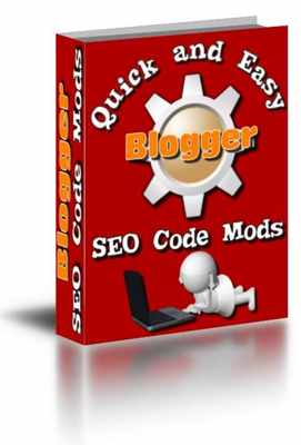 Product picture Quick and Easy Blogger SEO Code Mods (mrr)