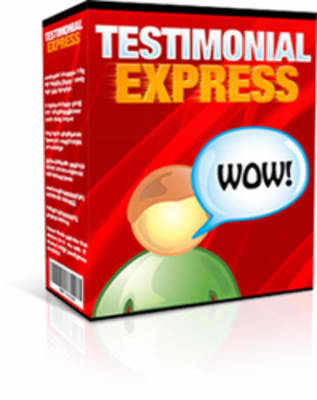 Product picture Testimonial Express (mrr)