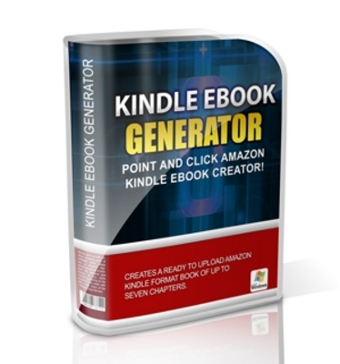 Product picture Kindle eBook Generator (mrr)