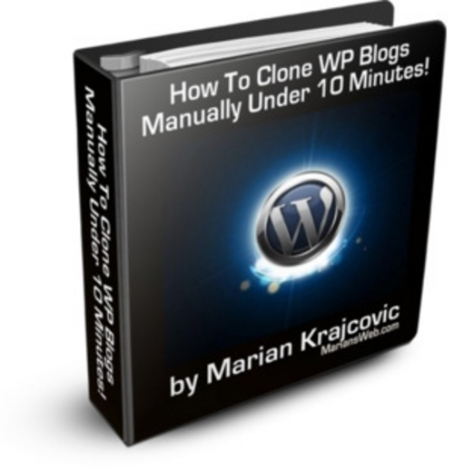 Product picture Clone WP Blogs Manually (MRR)