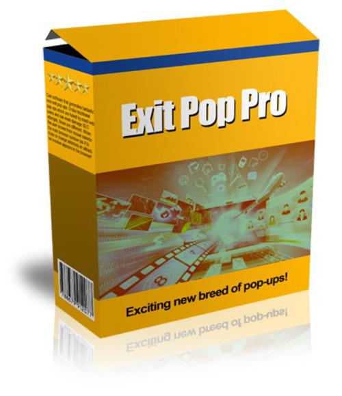 Product picture Exit Pop Pro (MRR)