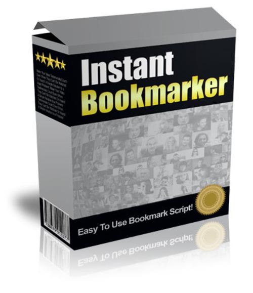 Product picture Instant Bookmarker Script (MRR)