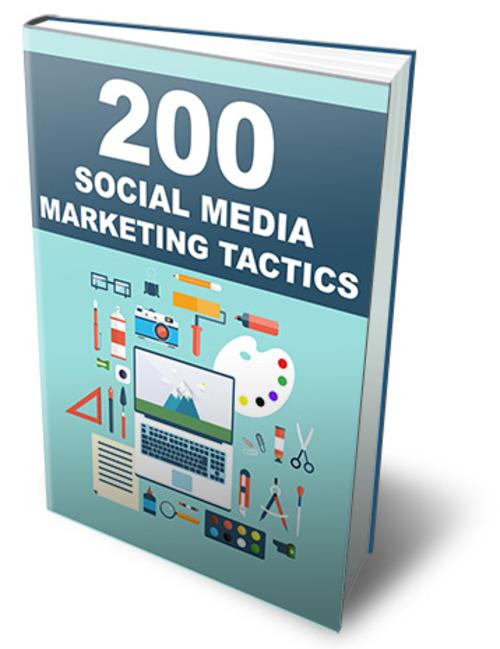 Product picture 200 Social Media Marketing Tactics (MRR)