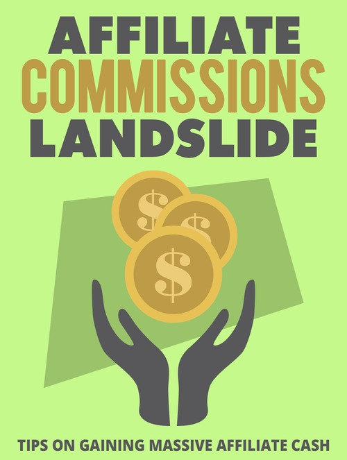 Product picture Affiliate Commissions Landslide (MRR)