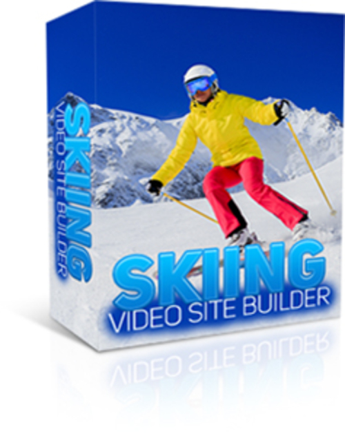 Product picture Skiing Video Site Builder (MRR)