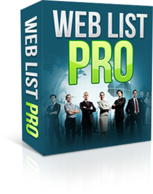 Product picture Web List Pro (MRR)