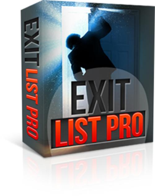 Product picture Exit List Pro (MRR)