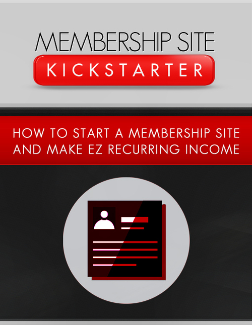 Product picture Membership Site Kickstarter (MRR)